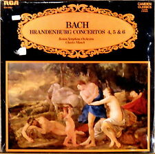 SEALED RCA UK CAMDEN CLASSICS JS Bach MUNCH Brandenburg Concertos CCV-5033
