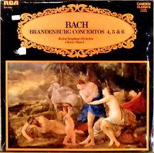 SEALED RCA UK CAMDEN CLASSICS JS Bach MUNCH Brandenburg Concertos CCV-5033