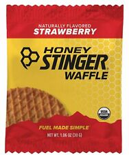 Honey Stinger Organic Waffle, Strawberry, 1.06 Ounce (16 Count) Exp 07/2020