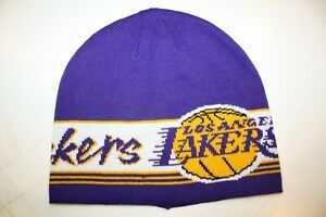 Adidas Originals X NBA Beanie Los Angeles La Lakers New Multicoloured