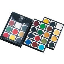 Kuretake  MC3/36V Gansai Tambi Watercolor Paint 36 Colors Set