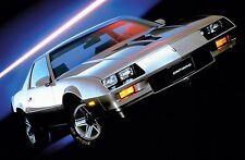 1983 CHEVROLET CAMARO Z28 POSTER | 24 x 36 INCH | muscle car | silver
