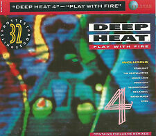 DEEP HEAT 4 PLAY WITH FIRE  2X CASSETTE INNER CITY TECHNOTRONIC HOUSE TECHNO