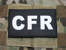 JTG-CFR-Combat First Responder-Patch, SWAT/3d Rubber Patch