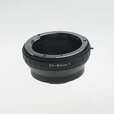 C/Y CY Contax Yashica Lens to Nikon 1 Mount Adapter J3 V1 Contax Yashica CY-N1