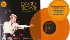 "DAVID BOWIE Live In Berlin 1978 Lp Brooklyn Museum 12"" Orange Vinyl New SEALED"