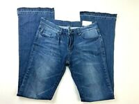 Blank NYC Bell Bottom Flare Pull-on Jeans Size 28 Blue Denim        y317