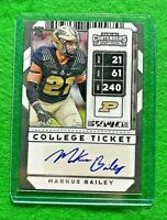 MARKUS BAILEY AUTO COLLEGE TICKET ROOKIE BENGALS 2020 CONTENDERS DRAFT PICKS RC