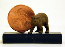 Preiser 1/87 HO Brown Bear Scale Plastic Figure 29512