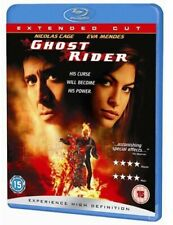 GHOST RIDER (EXTENDED NEW REGION 2 BLU-RAY