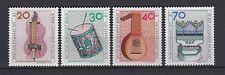 Berlin 1973 postfrisch MiNr.  459-462  Wohlfahrtsmarken Musikinstrumente