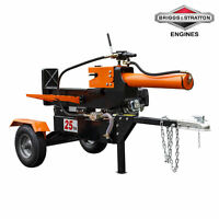 25-Ton Horizontal Vertical Full Beam Hydraulic Log Splitter Briggs & Stratton