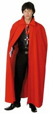 Umhang in rot zum Unisex Kostüm an Karneval Fasching Halloween