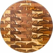 "Palais Dinnerware End Grain Cutting Board  (13"" Round End Grain)"