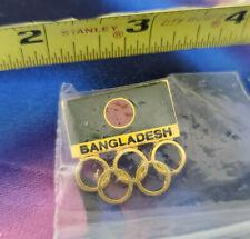 Sydney 2000 Olympic NOC Team Pin Bangladesh NEW