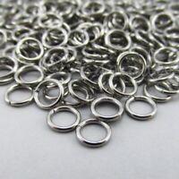 Jump Rings 6mm - 1000PCs Bulk Wholesale Stainless Steel 0.9mm Jumprings F8876