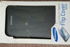 Samsung Galaxy Note 2 Flip Cover Case WITH NFC Blue Official Genuine