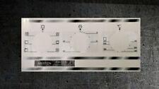 Ariston FB51.2 Ix Compatibile Pannello Frontale Set Adesivi Per Worn Fronti