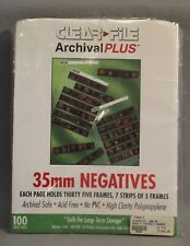 Archival Negative 7 Strip Binder 100+ Sheets Storage 3-Hole Punched NEW Other