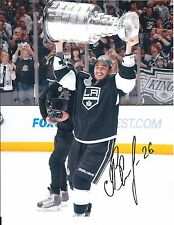 Slava VOYNOV Signed 2012 Stanley Cup 8x10 Photo KINGS