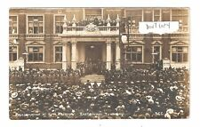 RP Proclamation King George V Eastbourne Town Hall unused RP old pc