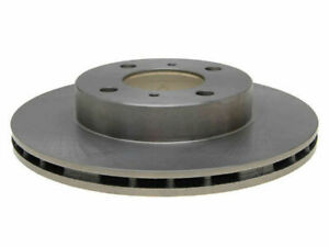 For 1993-1994 Plymouth Colt Brake Rotor Front AC Delco 45792QH 4dr Silver