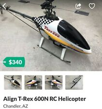 Align T-Rex 600N Helicopter