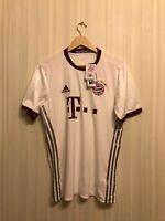 FC Bayern Munich 2016/2017 third Size M Adidas football shirt jersey trikot 3rd