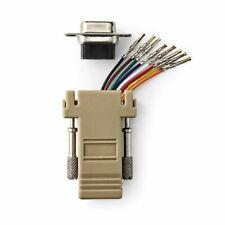 Nedis D-Sub Adapter D-Sub 9-Pin Female to RJ45 (8P8C) Female Ivory CCGP52820IV