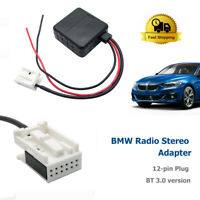 Car Bluetooth Module Stereo Aux Audio Music Cable Adapter For BMW E60 Interface