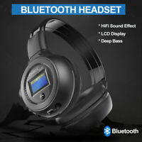 Kopfhörer Bluetooth Kabellos Faltbare Kopfhörer Over Ear Headset FM/TF/MP3