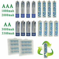 BTY 4/8/16/20pcs 1.2V AA AAA NI-MH 800/2000/3000/3300mAh Rechargeable Battery