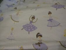Pottery Barn Ballerinas Dressed in Lavender Fitted Twin Sheet Pre-owned