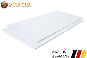 ABS Kunststoff Platte | Zuschnitt | WEIß | 2 Stück DIN A4 Format TOP Qualität