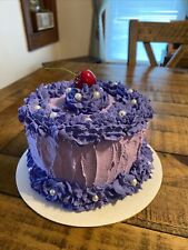 Fake Purple Cake
