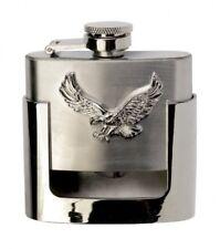Gürtelschnalle Buckle mit Taschenflasche Flachmann  Flying Eagle Western Flask