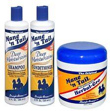 MANE 'n TAIL PROFOND SHAMPOING & REVITALISANT + Herbal Gro Maximum