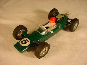 Vintage Scalextric FJ FRENCH Lotus C82 Green VG+