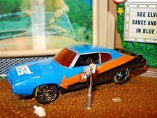 "1969 69 PONTIAC GTO 455 LIMITED EDITION 1/64 BLUE M2 ""NOS""  RACE CAR BLUE ORANGE"