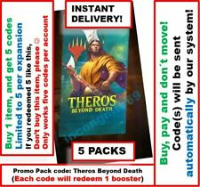 MTG Arena Code: 5 Promo Pack Booster (5 CODES). Theros Beyond Dead INSTANT EMAIL