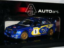 Auto Art 60193 Subaru Impreza WRC 2001 Monte Carlo Rally #5 1/43