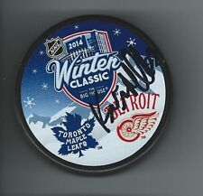 Kevin MILLER Signed Detroit Red Wings 2014 WINTER CLASSIC Puck