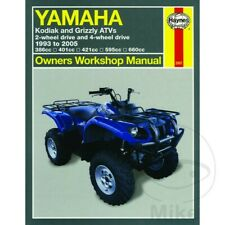YAMAHA KODIAK AND GRIZZLY ATVS 1993-2005 Haynes Repair Manual 2567