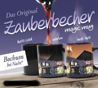 Zauberbecher Bochum Germany Zaubertasse Souvenir Magic Mug,300 ml.,Neu