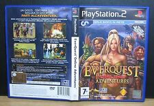 EVERQUEST ONLINE ADVENTURES - PS2 - PlayStation 2 - PAL - Usato