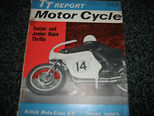 Motor Cycle magazine June 20 1963 TT IOM Jim Redman Mike Hailwood