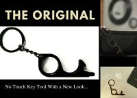 Black Door Opener - The Original Black (No Touch) Key Tool & Stylus | EDC Gear
