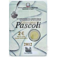 2€ commemorative italie 2012 en coincard