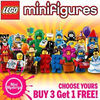 LEGO Minifigures Series 18 Party 71021 #1-17 *CHOOSE YOURS* BUY 3 GET 1 FREE