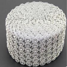 DIY Diamond Rhinestone Bling Ribbon Mesh Vase Wrap Wedding Party Decor Supply